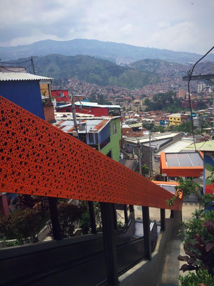 La Escaleras Eléctricas, Medellin, Comuna 13, Colombia