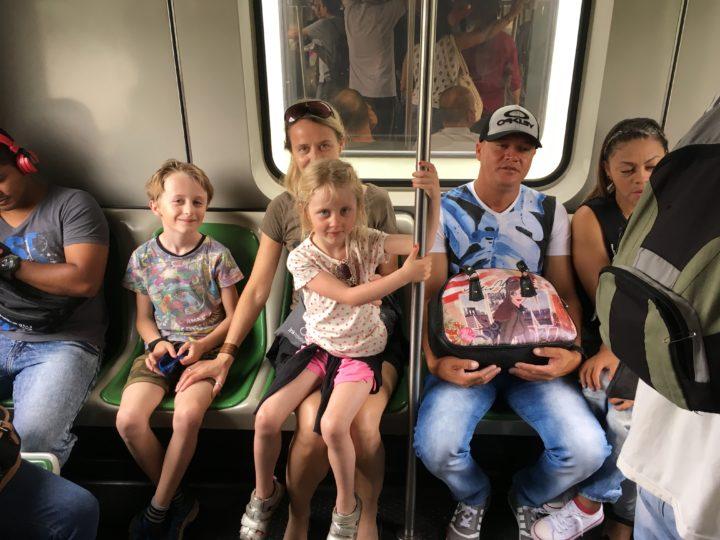 Medellin metro Colombia